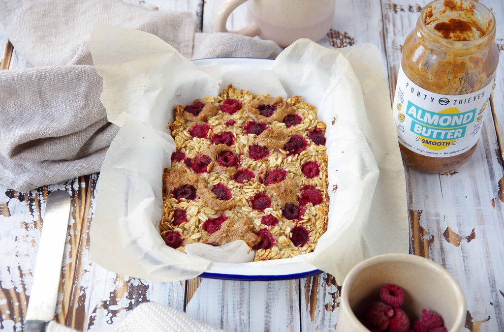Berry & Nut Butter Baked Oats