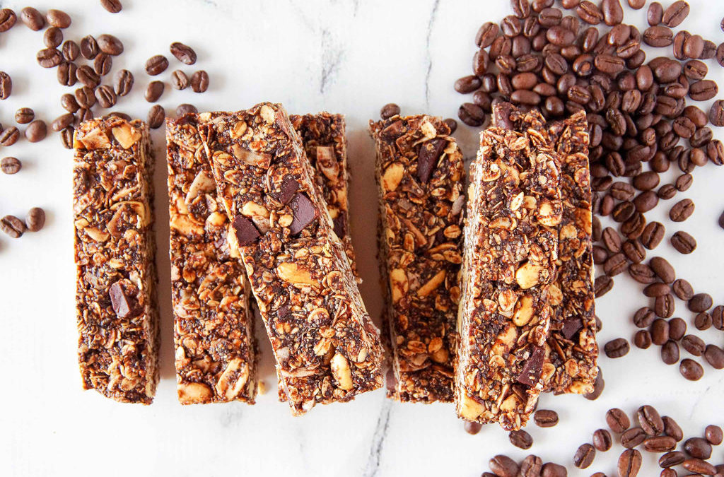 Mocha Peanut 'Pick-me-up' Bars