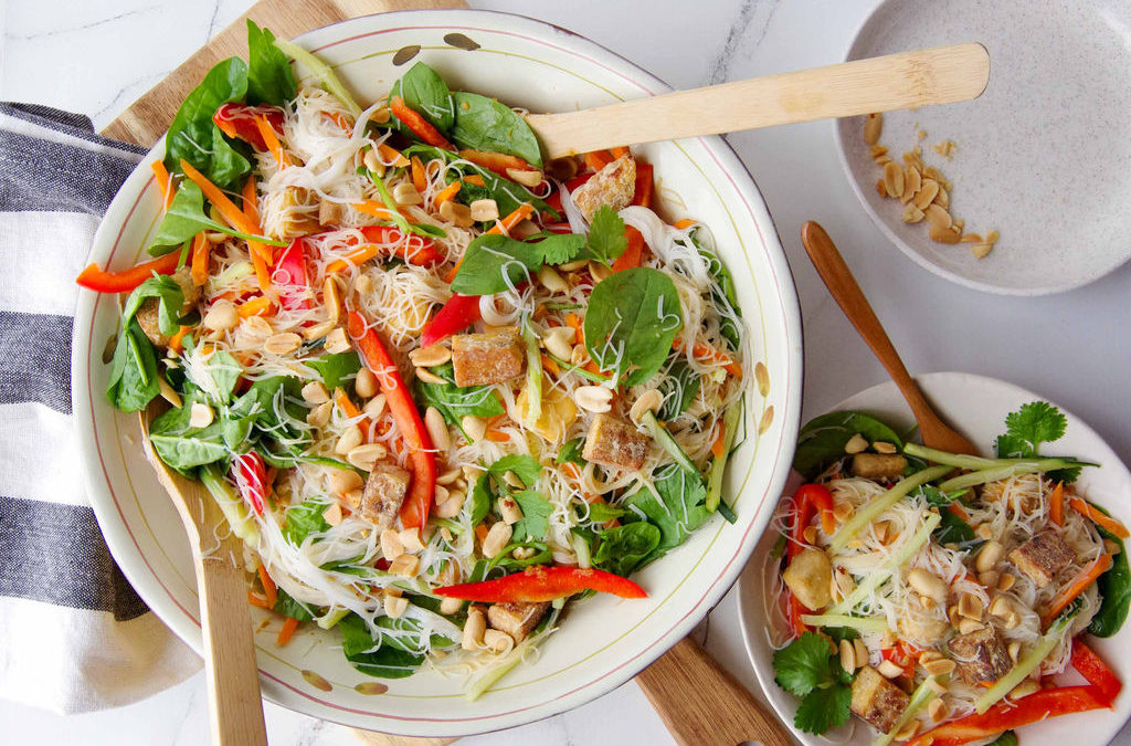 Asian Rice Vermicelli Salad