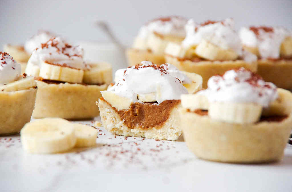 Raw Banoffee Pies