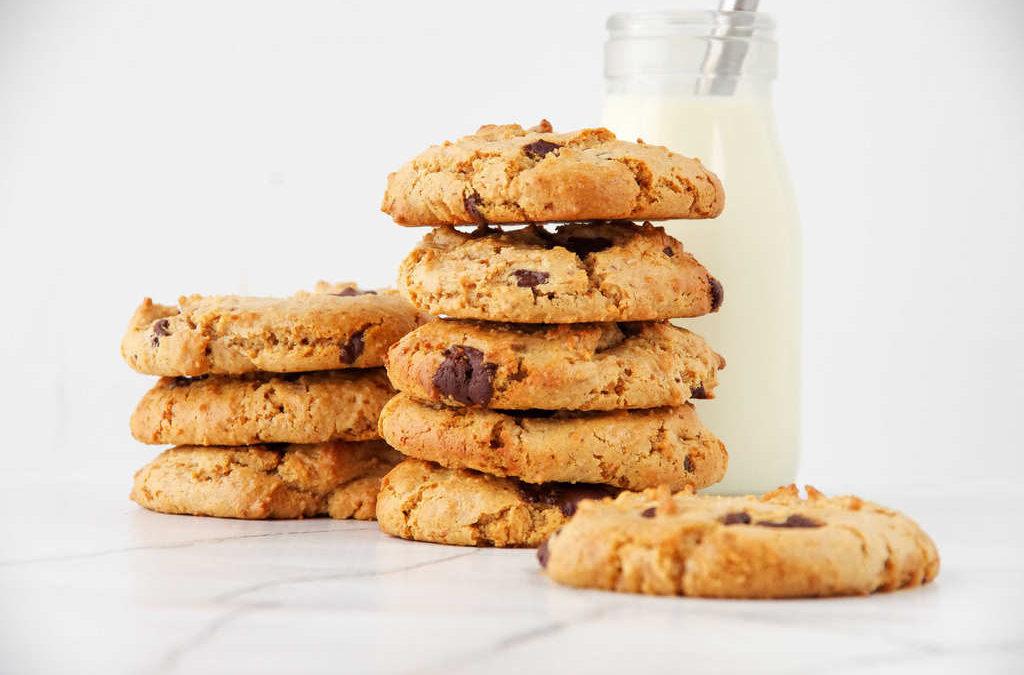 Choc Chip Cookies (Vegan & Gluten Free)