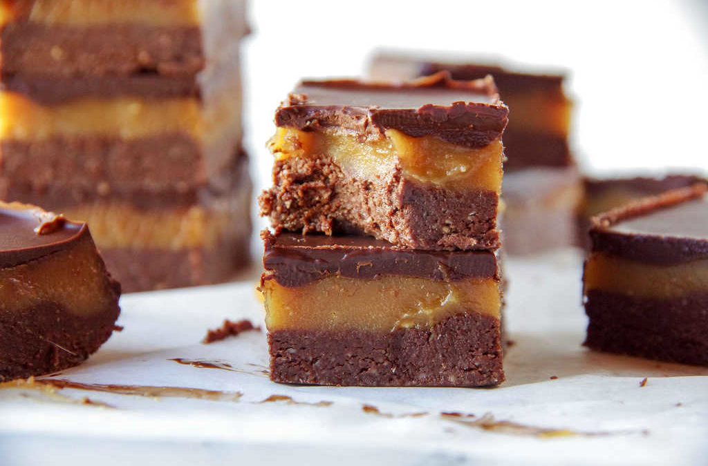 Chocolate Peanut Butter Fudge Slice