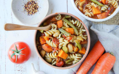 Minestrone Soup (GF, Vegan)
