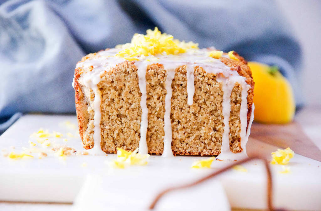 Rustic Lemon Oat Loaf