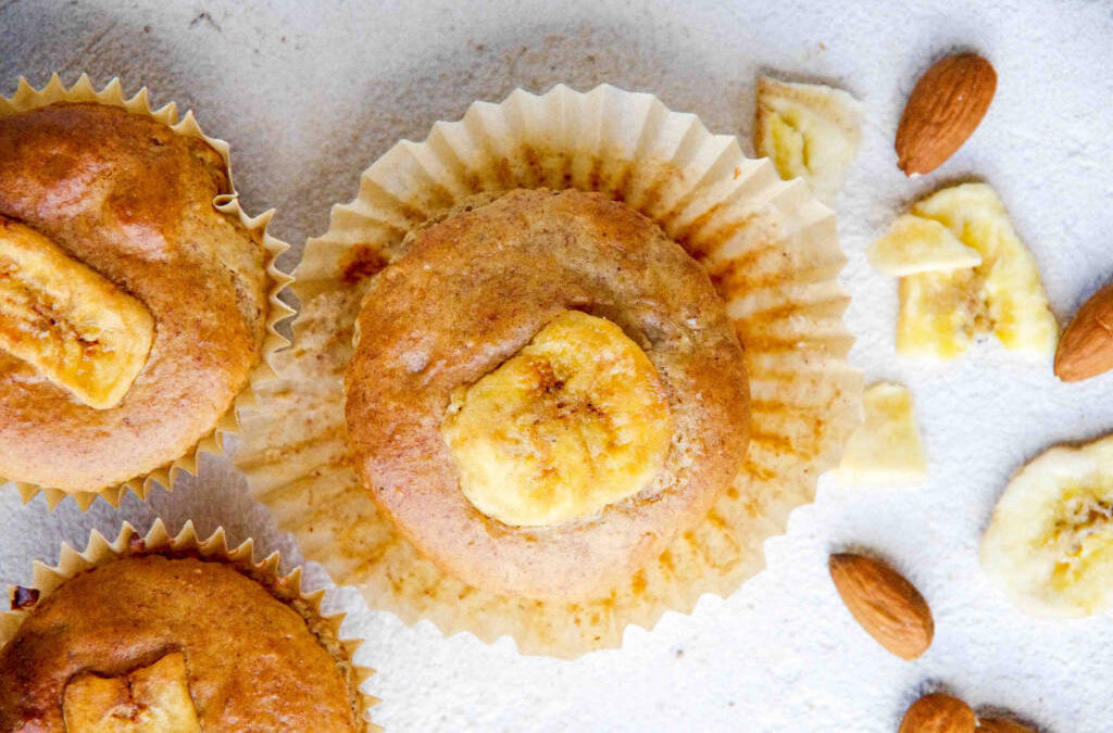 Banana Nut Blender Muffins